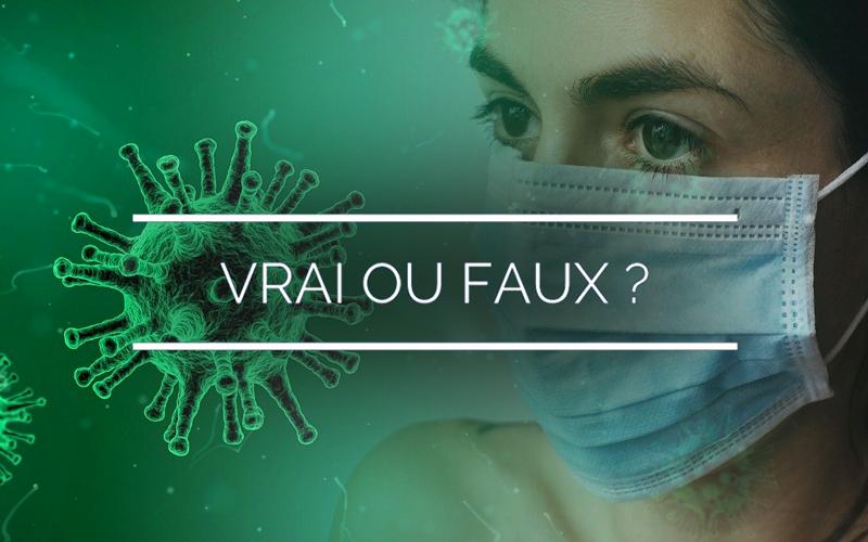 Coronavirus : le vrai du faux, ce qu'il savoir