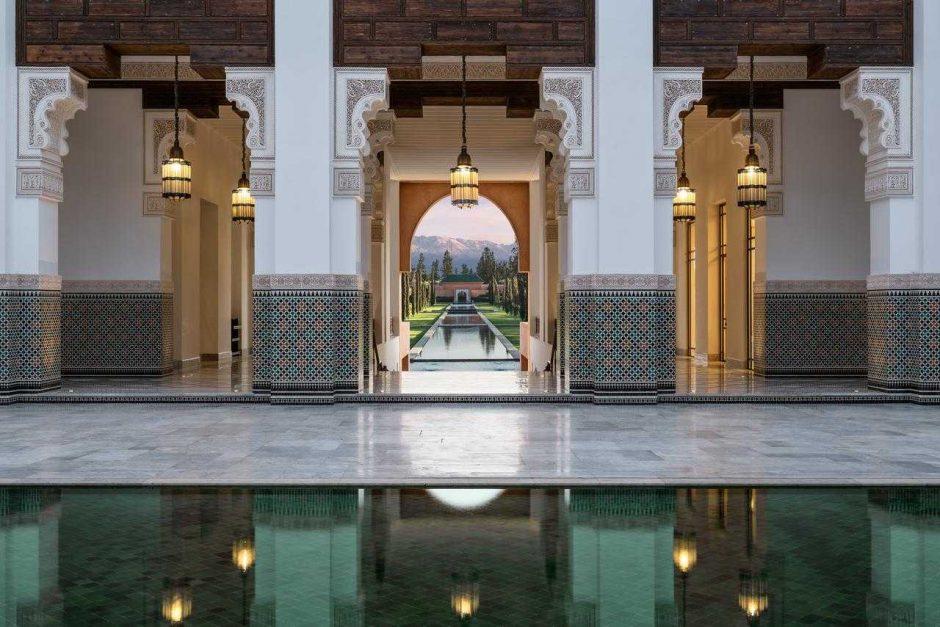 The Oberoi Marrakech parmi les meilleurs nouveaux hôtels au Monde